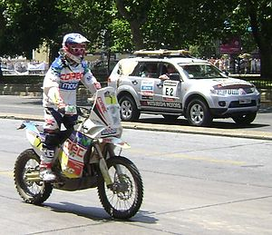2013 Dakar Rally - Francisco López Contardo during final stage