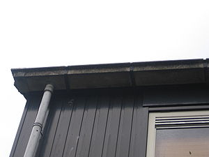 Downspout - Rain gutter and downspout