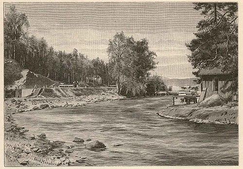Billingsfors station. - Jrnvgsmuseet / DigitaltMuseum