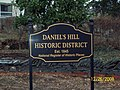 Daniels Hill Sign Dec 08.JPG