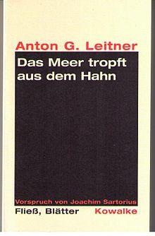 Moderne Weihnachtsgedichte.Anton G Leitner Wikipedia