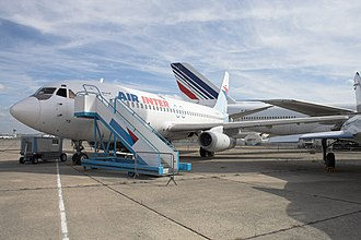 Dassault Mercure - Mercure on display at a museum at Le Bourget Airport, Paris