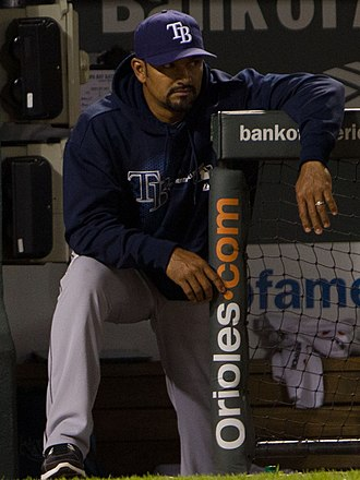 Dave Martinez - Martinez with the Tampa Bay Rays in 2012