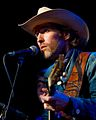 Dave Rawlings performs on February 14, 2010 at the Showbox Market in Seattle, Washington.jpg
