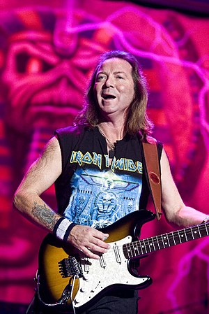 Dave Murray (musician) - Dave Murray performing in San José, Costa Rica, 26 February 2008