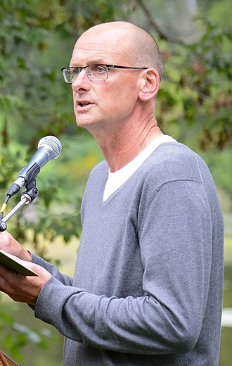 David Bergen - Bergen at the Eden Mills Writers' Festival in 2013