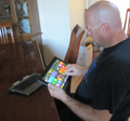 David Buchholz using touch interface of Detachable Ultrabook Convertible.png