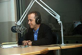 David Sedaris - Sedaris at WBUR in Boston, Massachusetts in June 2008
