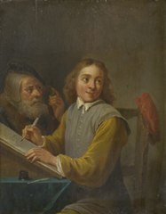 David Teniers (III) learns to draw