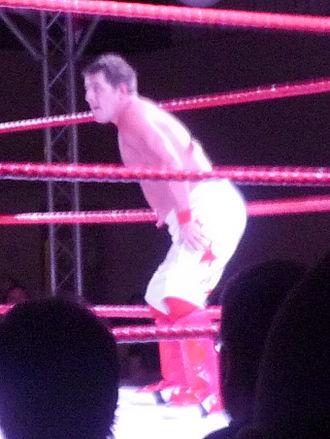 Dean Allmark - Allmark in the ring in November 2011