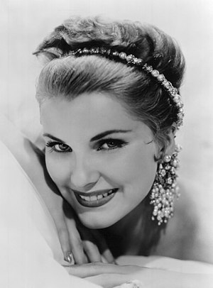 Debra Paget - Paget in 1958