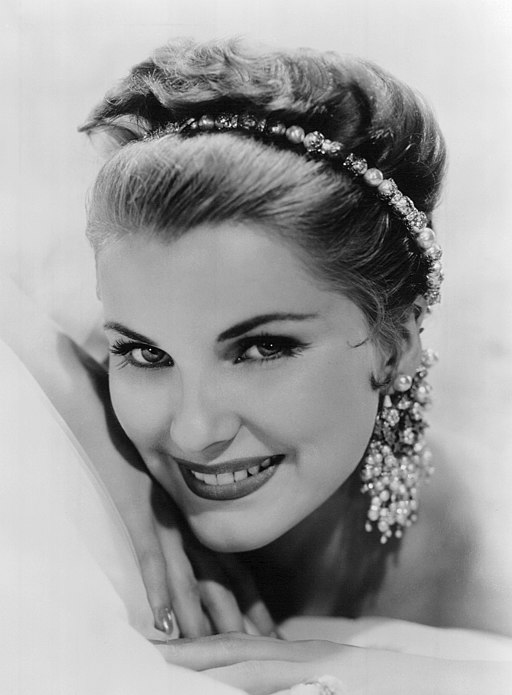 Debra Paget 1958