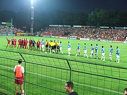 Debrecen played their home matches at Oláh Gábor utcai Stadion between 1989  and 2014 77a2814935