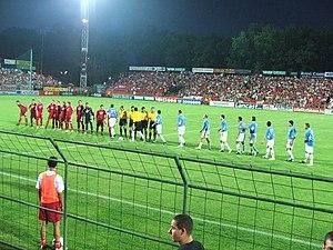 Oláh Gábor utcai Stadion - Image: Debrecen Rabotnicki