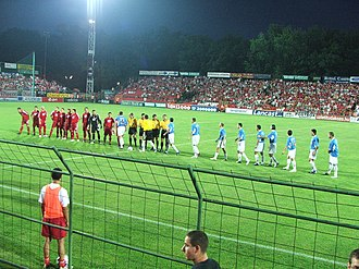 Debreceni VSC - Debrecen played their home matches at Oláh Gábor utcai Stadion between 1989 and 2014
