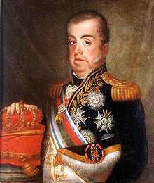 Le roi Jean VI de Portugal par Jean-Baptiste Debret.