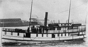 Defiance (steamboat) - Image: Defiance (steamboat 1901)
