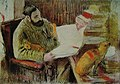 Degas - Man Reading (Diego Martelli), Circa 1881.jpg