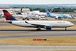 Delta Air Lines, N857NW, Airbus A330-223 (29467910097).jpg