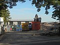 Demolition work at King James' School, Knaresborough (24th August 2019) 001.jpg