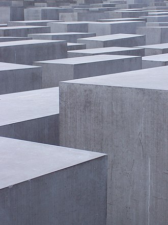 Memorial to the Murdered Jews of Europe - Image: Denkmal für die ermordeten Juden Europas