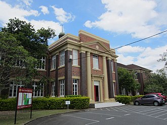 Ithaca Creek State School - Front view, Block A, 2015