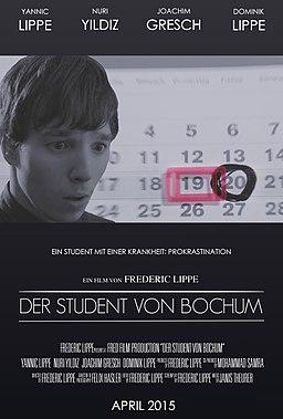 Der Student von Bochum - Plakat