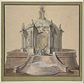 Design for Festival Architecture for an Entry into Paris for the King of Sweden, Frederick I of Hesse MET DP808396.jpg