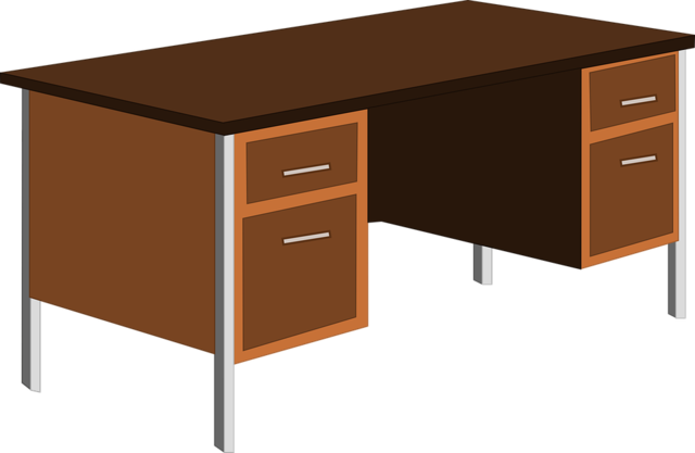 File desk office table wikimedia commons for Bureau de dessin