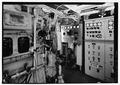 Detail of engine control panel. - U.S. Coast Guard Cutter FIR, Puget Sound Area, Seattle, King County, WA HAER WA-167-32.tif
