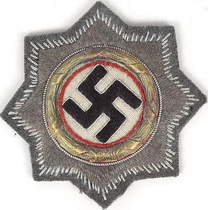 German Cross - German Cross in Gold (cloth form)