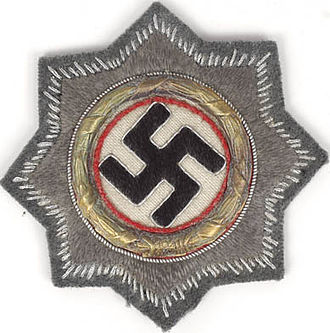 German Cross - German Cross in Gold (cloth form)