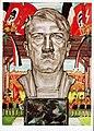 Deutsches Reich Nürnberger Reichsparteitag 1934 farbige Photo-Hoffmann Propaganda Postkarte Nr. 424 mit Sonderstempel Ansichtskarte Nazi Party Rally Postcard Adolf Hitler portrait No known copyright restrictions 3200501572.jpg