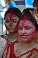 Devotees - Durga Idol Immersion Ceremony - Baja Kadamtala Ghat - Kolkata 2012-10-24 1373.JPG