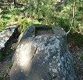 """Die """"Suppenschüssel"""" ist ein alter Grenzstein, an dem Leistädter historischen Rundwanderweg. - panoramio.jpg"""