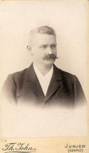Dinslaken - Dietrich Barfurth, 1890s