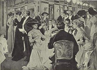 St. Regis New York - Image: Dinner at the Hotel St. Regis, New York 1912