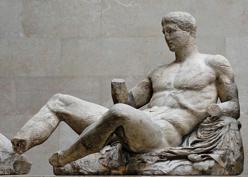 Dionysos pediment Parthenon BM