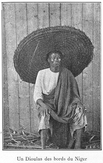 Dyula people - A Dyula man, 1900