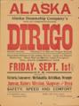 Dirigo handbill Alaska Steam 1903.png