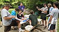 Discussing macroinvertebrate stream animal identification (4947688355).jpg