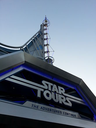 Star Tours – The Adventures Continue - Attraction at Disneyland