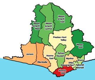 Ahanta West Municipal District Municipal District in Western, Ghana