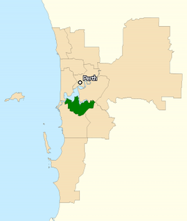 Division of Tangney Australian federal electoral division