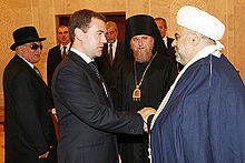 Dmitry Medvedev in Azerbaijan 3 July 2008-9.jpg