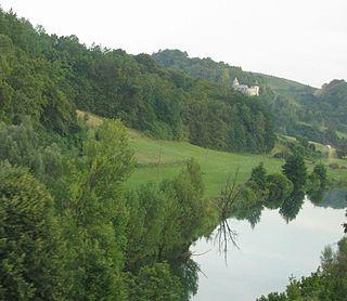 Dobra (Kupa) river in Croatia