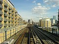 Docklands Light Railway above Limehouse Basin - geograph.org.uk - 1754842.jpg