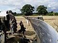 Doe Dual Drive 130 tandem tractor and plough.jpg