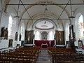 Dohem (Pas-de-Calais, Fr) église Saint-Omer intérieur.JPG