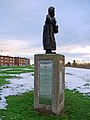 Dolly Peel statue, River Drive, South Shields (geograph 2198709).jpg